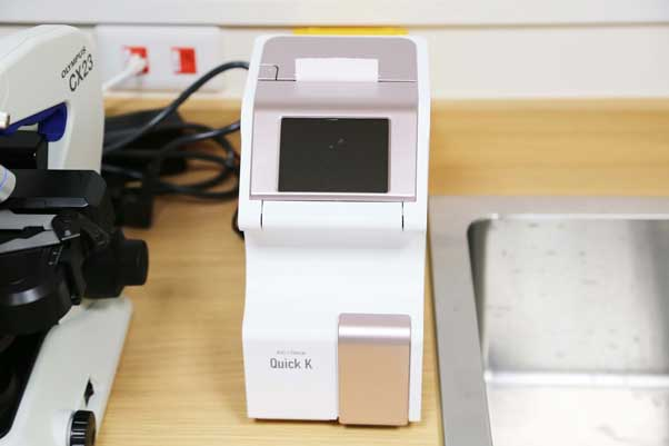 採血検査(HbA1c検査)装置