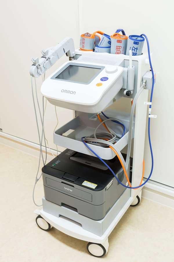 血管年齢・動脈硬化検査(ABI)装置